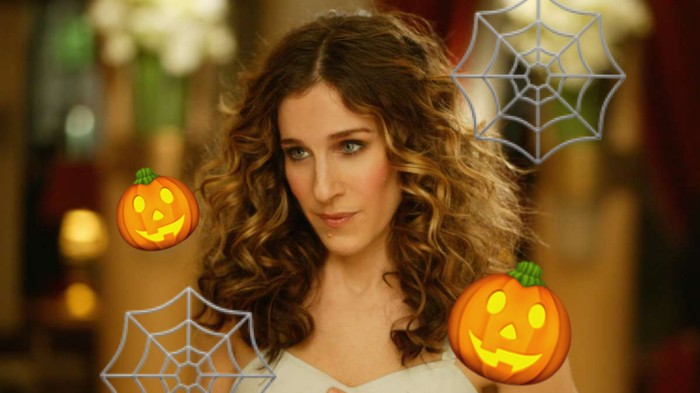Sarah Jessica Parker Is Carrie Brad-SHOCKED Someone Stole Her Pumpkins