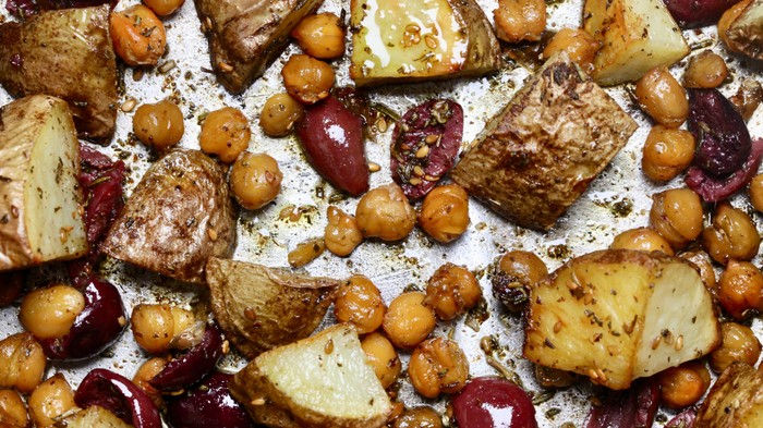 Roasted Potatoes and Chickpeas with Za'atar Recipe