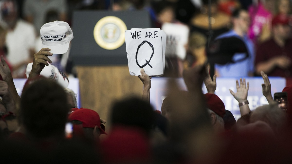 8chan Is Back With a New Name — and QAnon Is Already Posting