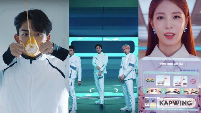 Korean Air's In-Flight Safety Video Ingeniously Features K-Pop