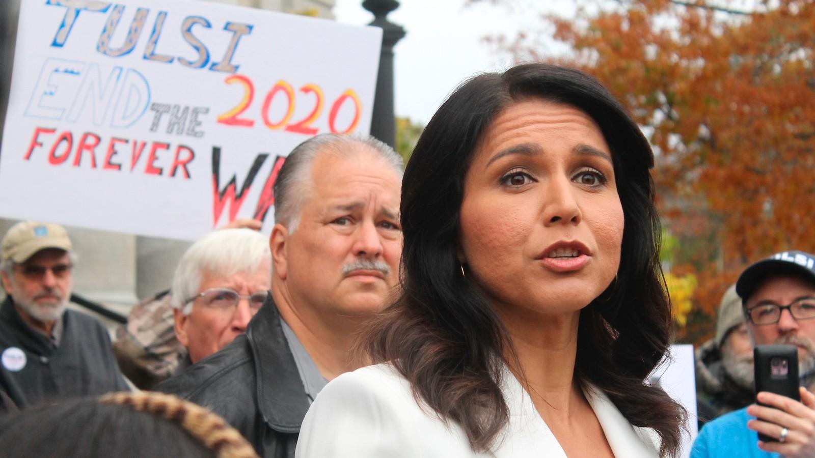 'I'm Full Tulsi': Inside Tulsi Gabbard's Wild Bid to Make Trouble in 2020