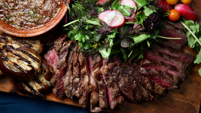 Steak with Nahm Jim Jeaw Recipe