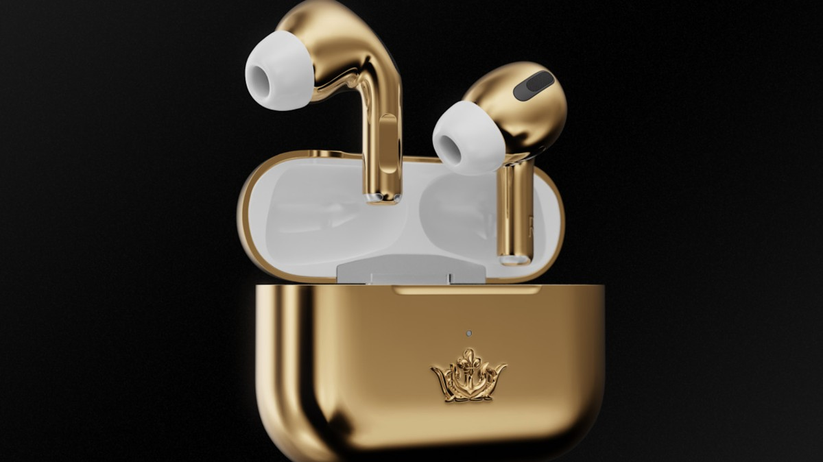 Please Don't Buy This $67,000 Pair of Gold AirPods