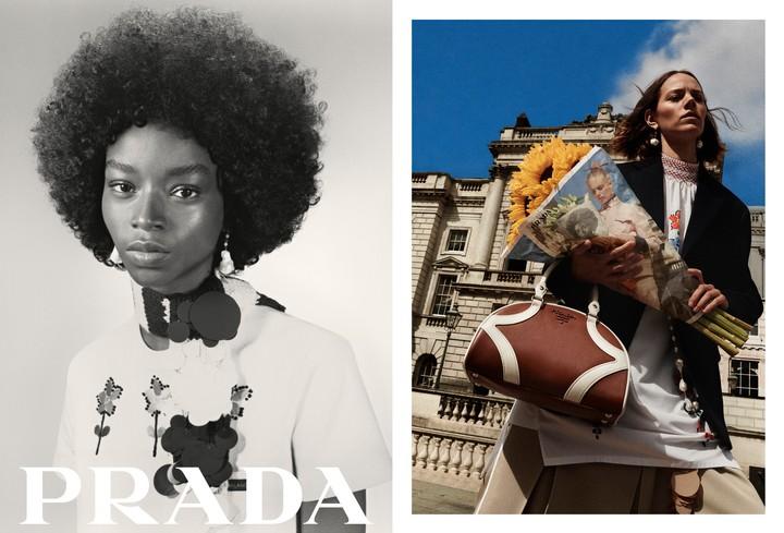 Prada's new resort campaign is sheer fashion 'Inception'