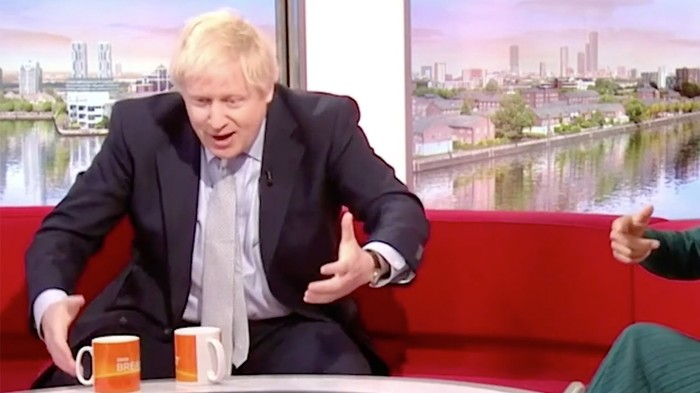 Watch Boris Johnson Melt Down After Being Asked Why He's 'Relatable'