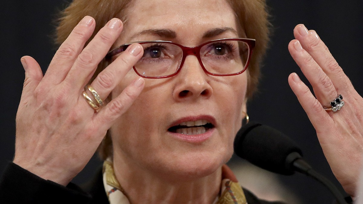 , Trump Tried to Intimidate Marie Yovanovitch as She Testified About His Intimidation, Saubio Making Wealth