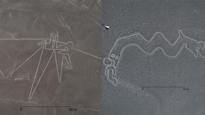 Scientists Uncovered 143 More Huge Ancient Drawings In Peru