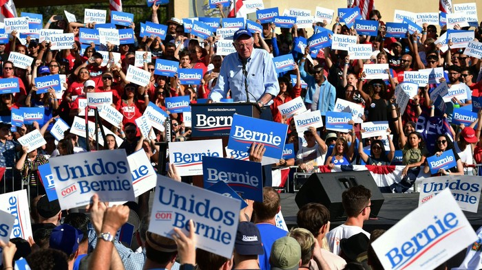 Bernie Sanders Is Betting on Young Latinos to Help Him Win California