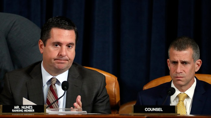 Devin Nunes Just Tried to Out the Whistleblower on Live TV