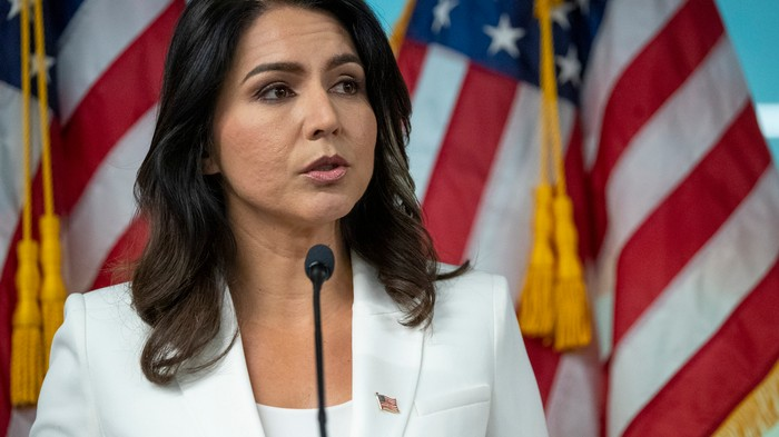 Here's Exactly How Much Russian Media Loves Tulsi Gabbard — and Hates Biden