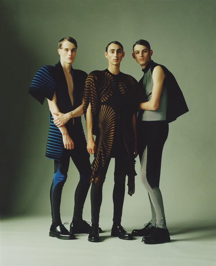 The designer making futuristic, armour-like knitwear