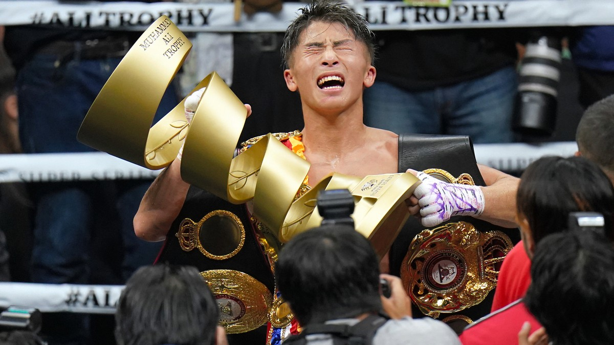 Naoya Inoue, Japan's Greatest Boxer, Is Fighting for the World