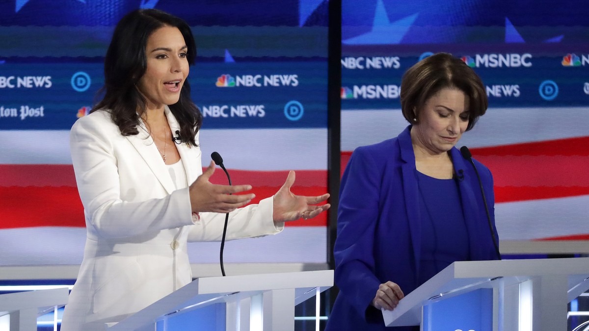 The Trump Campaign Is Super Impressed With Tulsi Gabbard's Debate Performance
