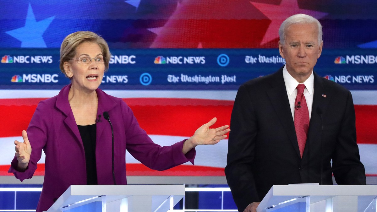 Biden Says He's 'From the Black Community': 7 Moments You Missed From the Democratic Debate
