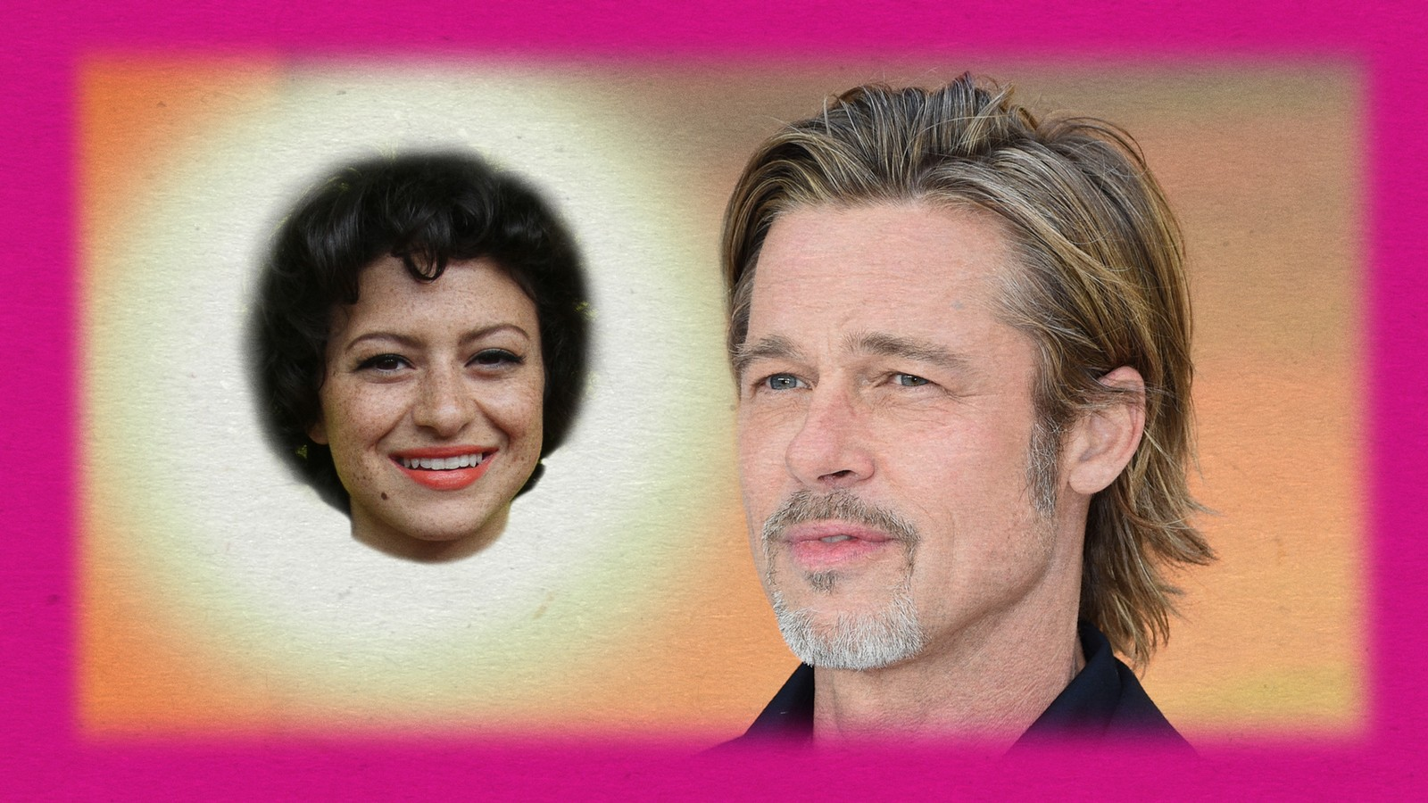 Brad Pitt and Alia Shawkat Are Just Friends, OK?