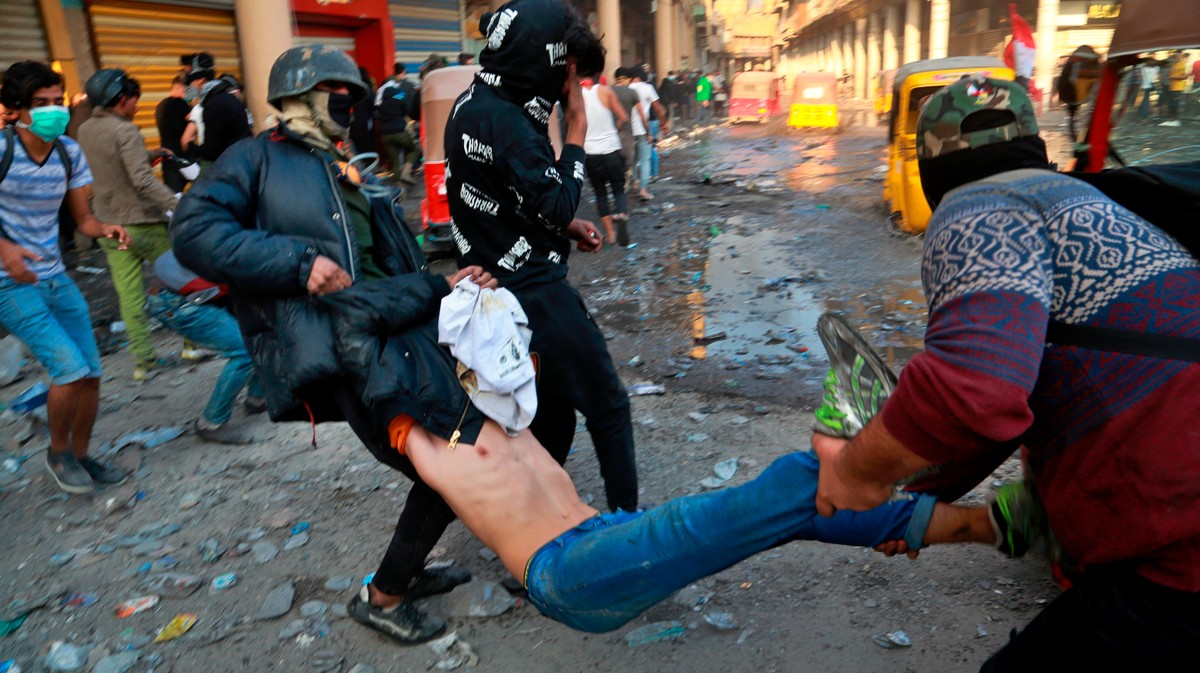 , 'Bloodbath': Iraq Is Cracking Down on Protesters With Live Ammunition and Military-Grade Tear Gas Grenades, Saubio Making Wealth