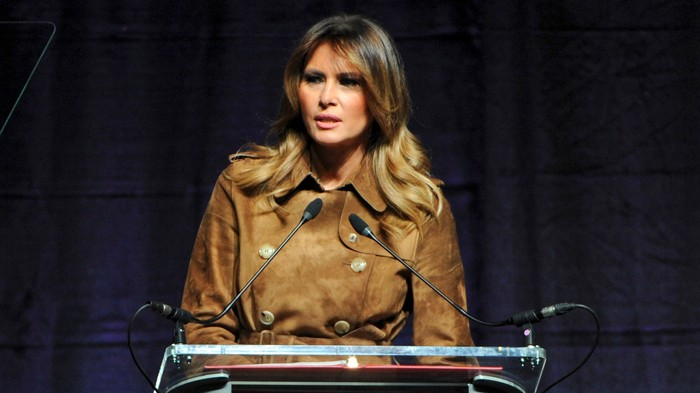Melania Tried to Talk to Bunch of Teens About the Opioid Crisis, and They Were Not About It