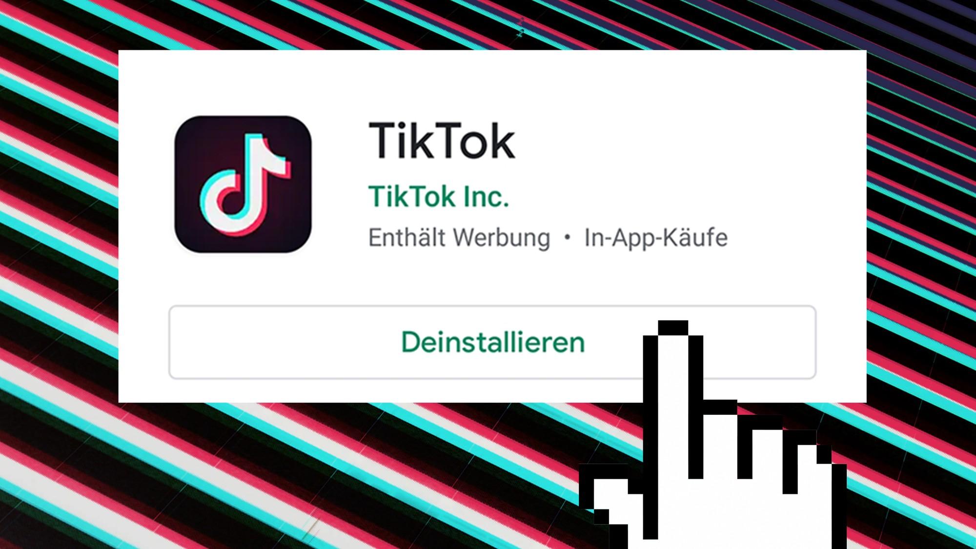 Tik tok account löschen