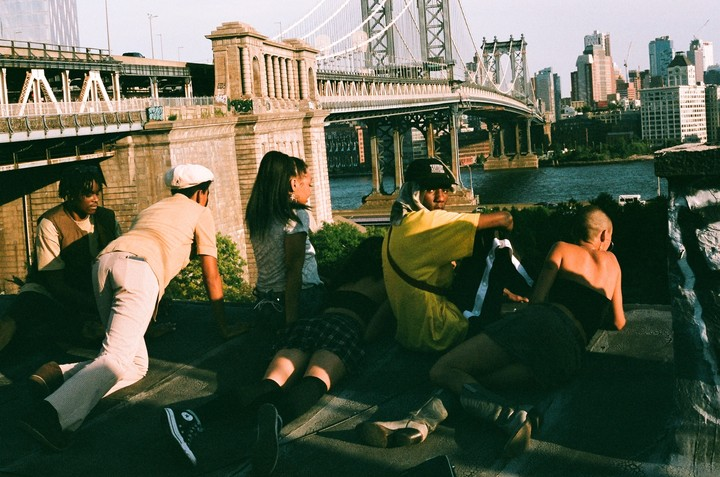 This photo company connects NYC photographers, artists, and skaters through film