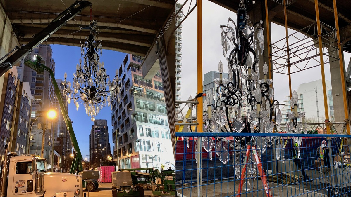This $5M Chandelier Under a Bridge Is What Will Start the Class War