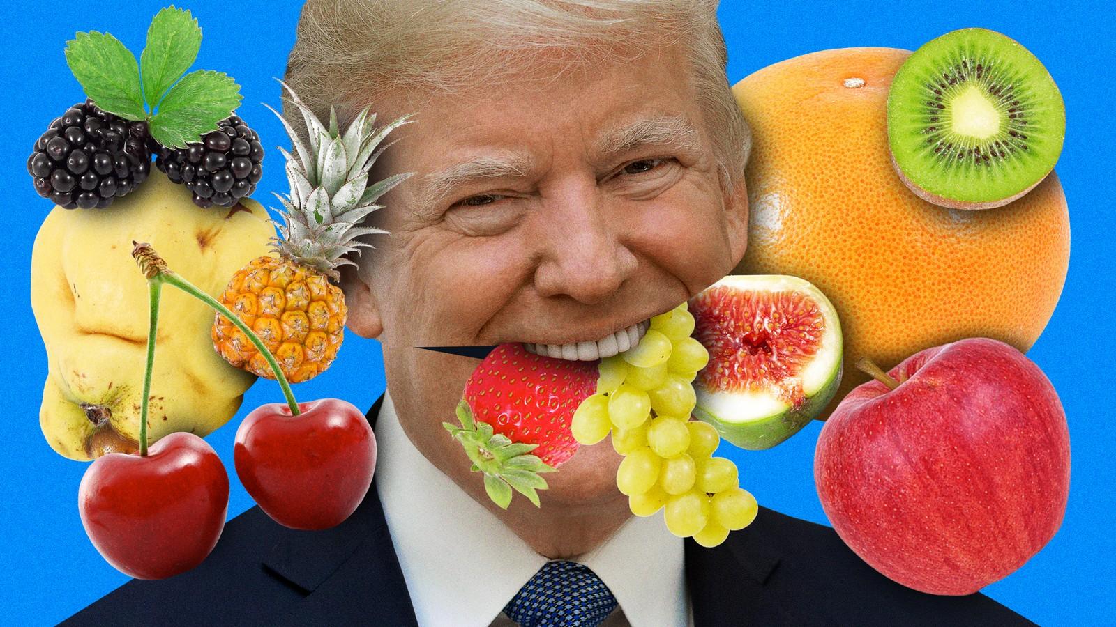 Has Donald Trump Ever Eaten A Piece Of Fruit?