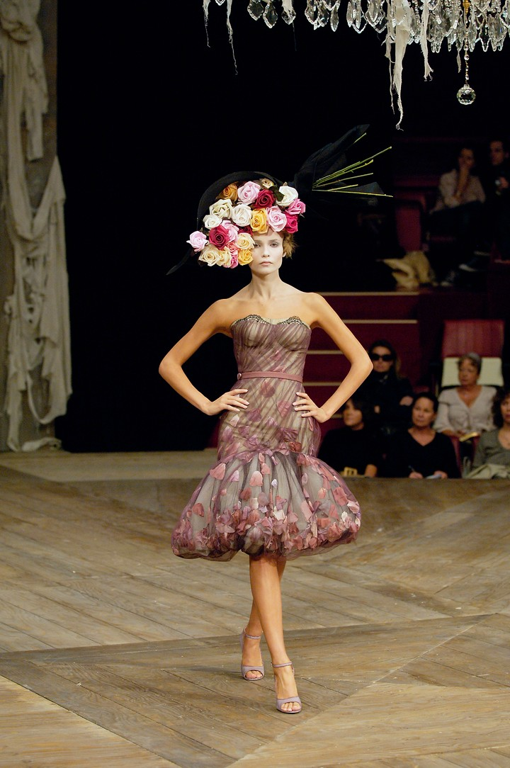 Alexander McQueen celebrate their fascination with the rose
