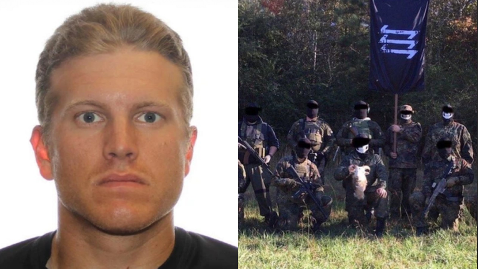Canada paramilitary Nazi fascism militia white supremacy guns
