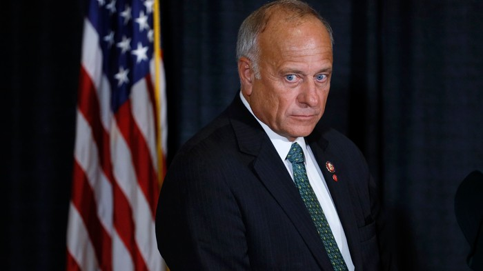 Steve King Went to an Iowa Pizza Hut to Declare Western Civilization 'Superior'