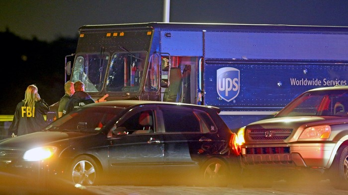 A UPS Driver and Bystander Were Killed in a Police Shootout Over the Driver's Hijacked Truck