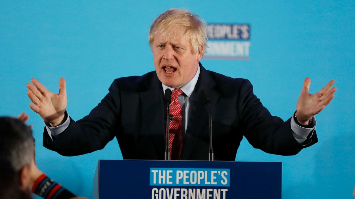 , Boris Johnson Says His 'Stonking Mandate' Means Brexit Will Happen Next Month, Saubio Making Wealth