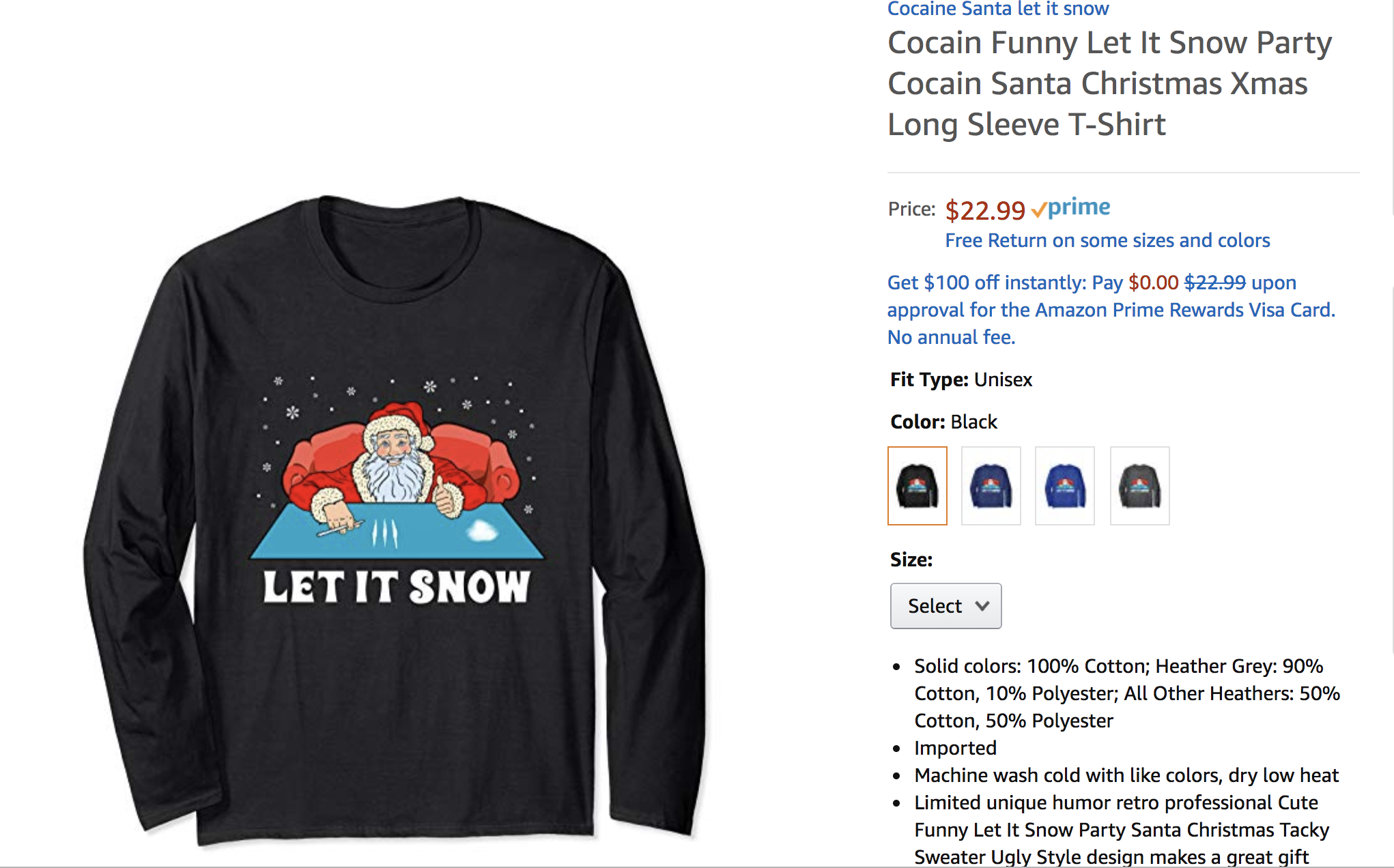 Amazon Is Still Selling Festive Christmas Sweaters Showing
