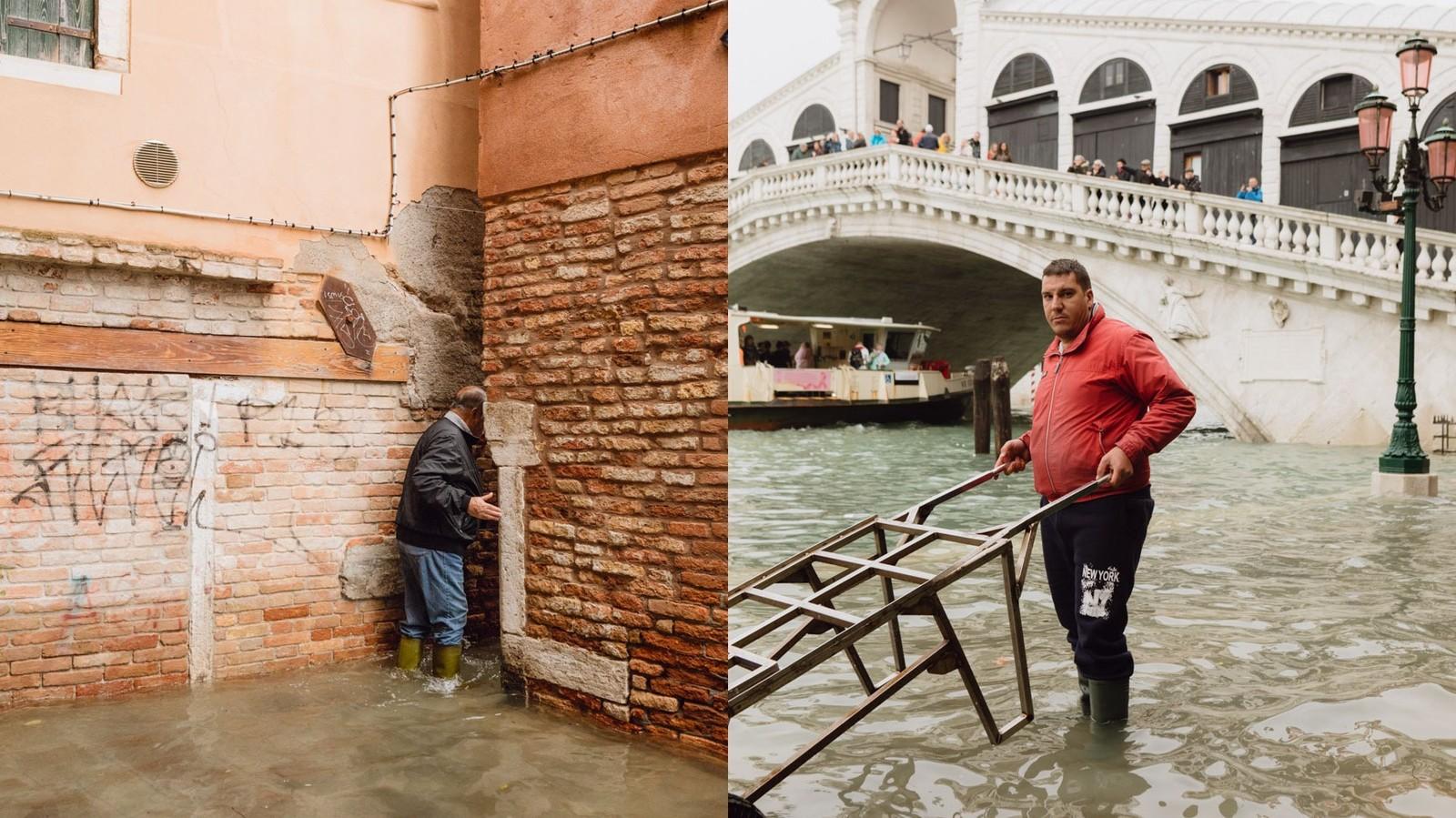 Le calme inquiétant de Venise sous les eaux