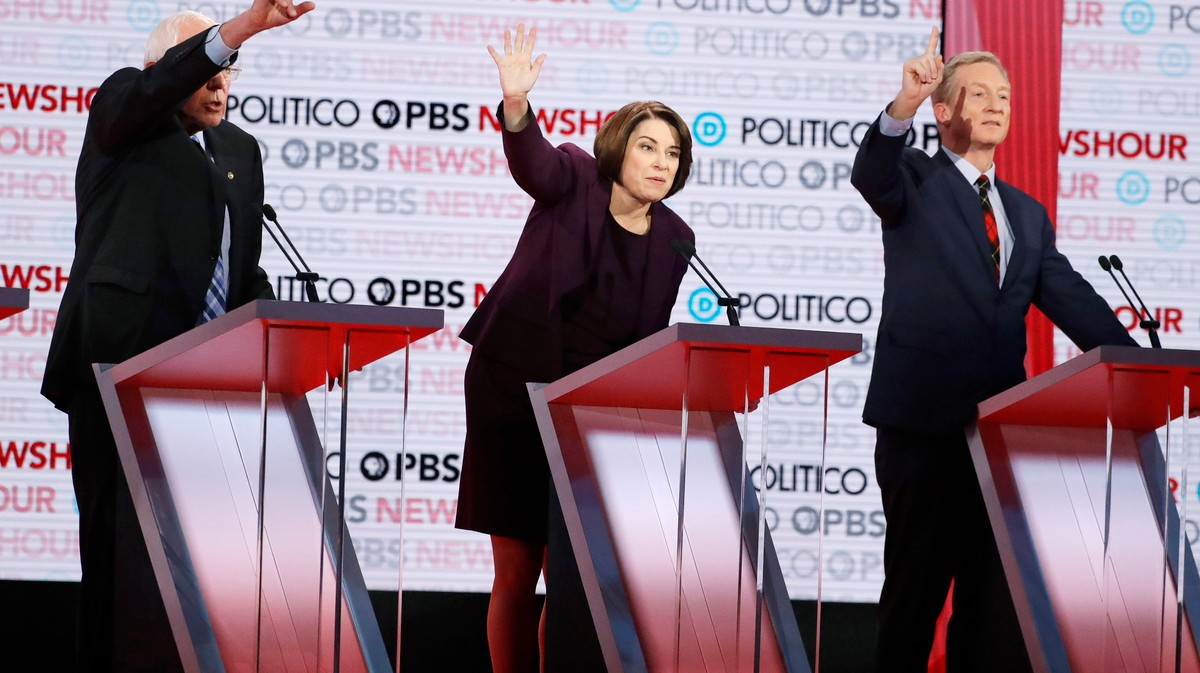, Climate Change Finally Got Some Real Airtime at the Democratic Debate. Here's What the Candidates Said., Saubio Making Wealth