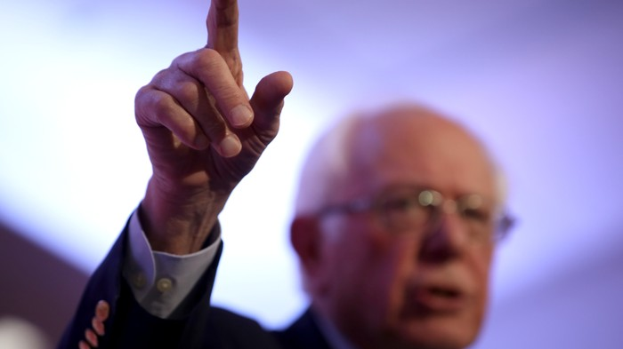 Sanders Is Hot in the Polls, and Still Treated Like a Second-Tier Candidate
