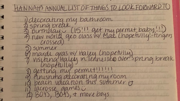 Resolutions Suck; Make A List of Things to Be Excited About Instead
