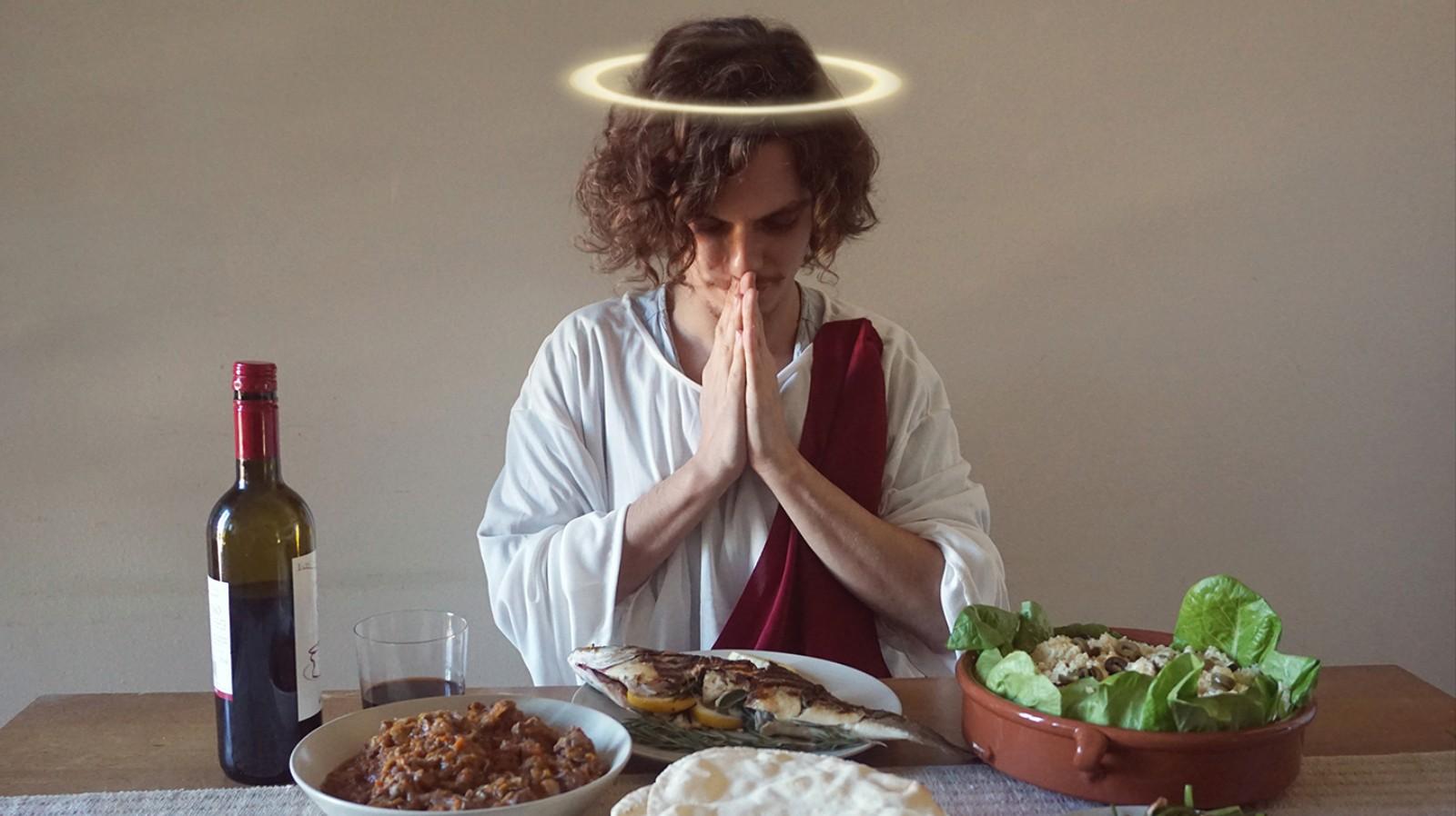 Ich habe eine Woche lang wie Jesus gegessen