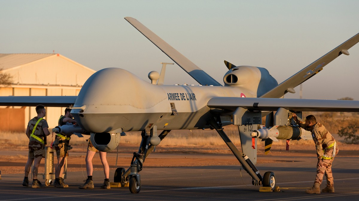 , France Just Became the Latest Country to Use Unmanned Combat Drones, Saubio Making Wealth
