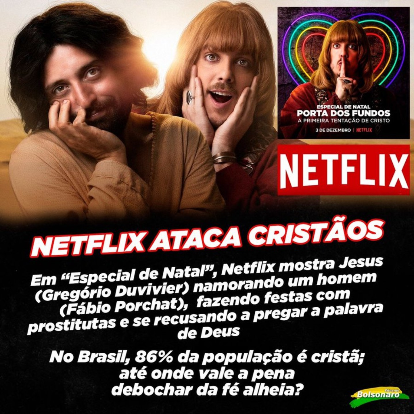 , The Comedy Group That Made Brazil's 'Gay Jesus' Show Was Firebombed, Saubio Making Wealth