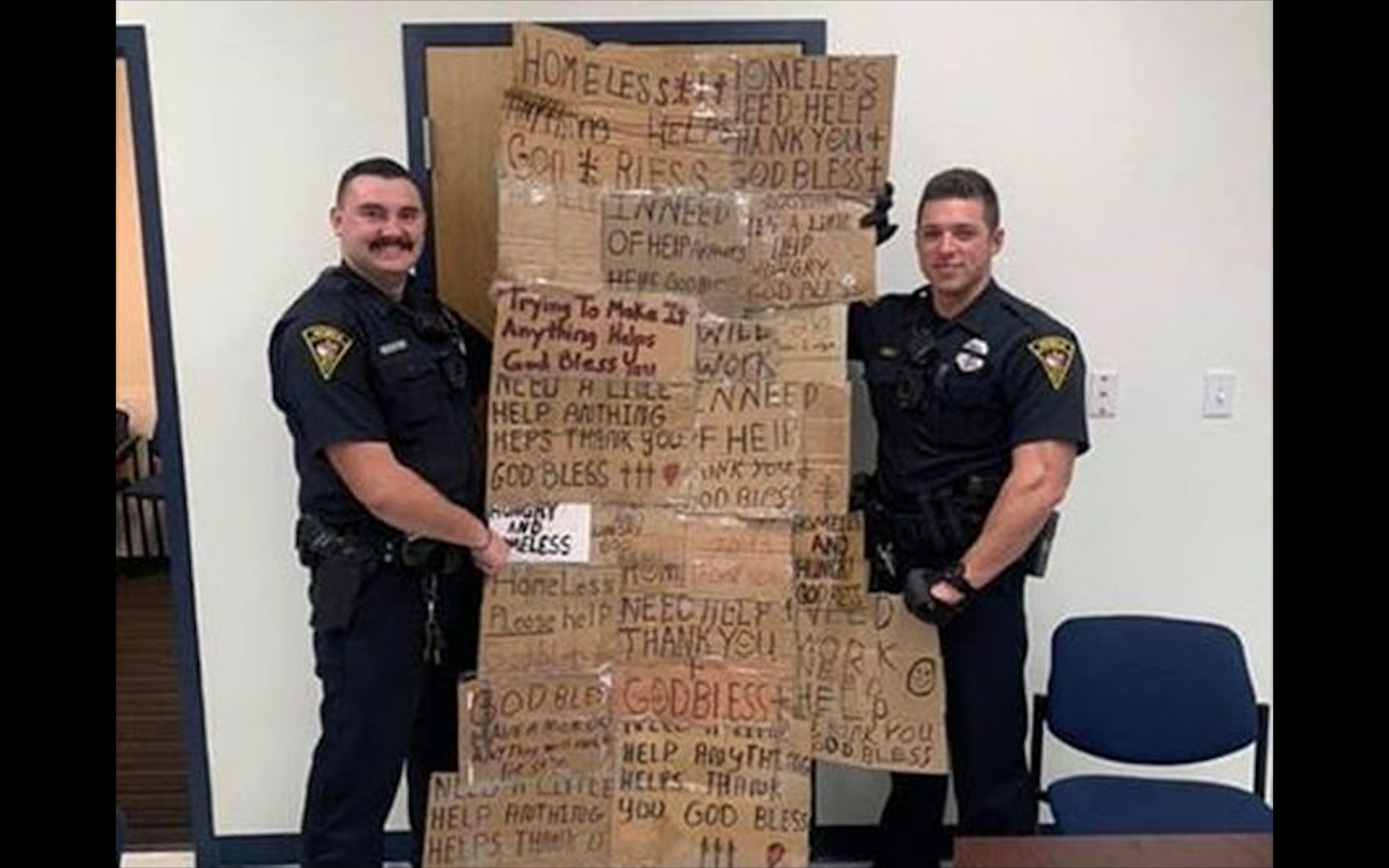 , An Alabama Police Chief Is Very Sorry His Officers Made a 'Homeless Quilt' Out of Panhandling Signs, Saubio Making Wealth