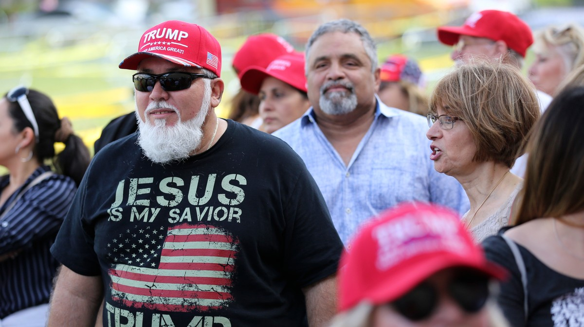 , Trump Is Holding His First 2020 MAGA Rally at a Tax-Exempt Megachurch, Saubio Making Wealth