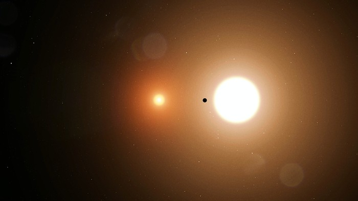 NASA's New Exoplanet Hunter Discovers Its First Planet Orbiting Two Stars