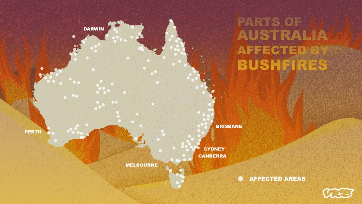 Here Are Some Illustrations That Show Just How Bad Australia's Bushfires Are