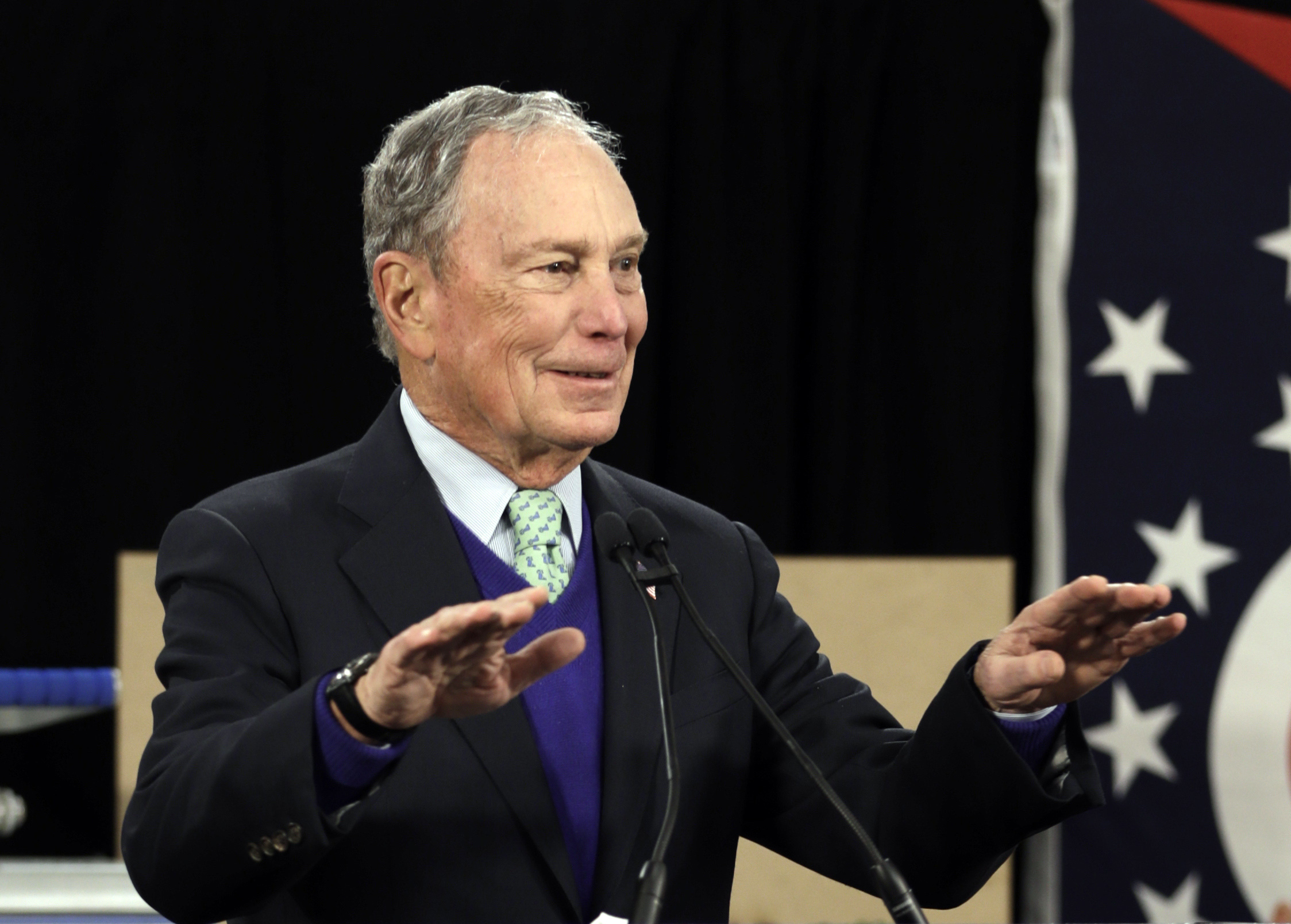 Bloomberg Vows to Bury Trump With His Billions — Even If He