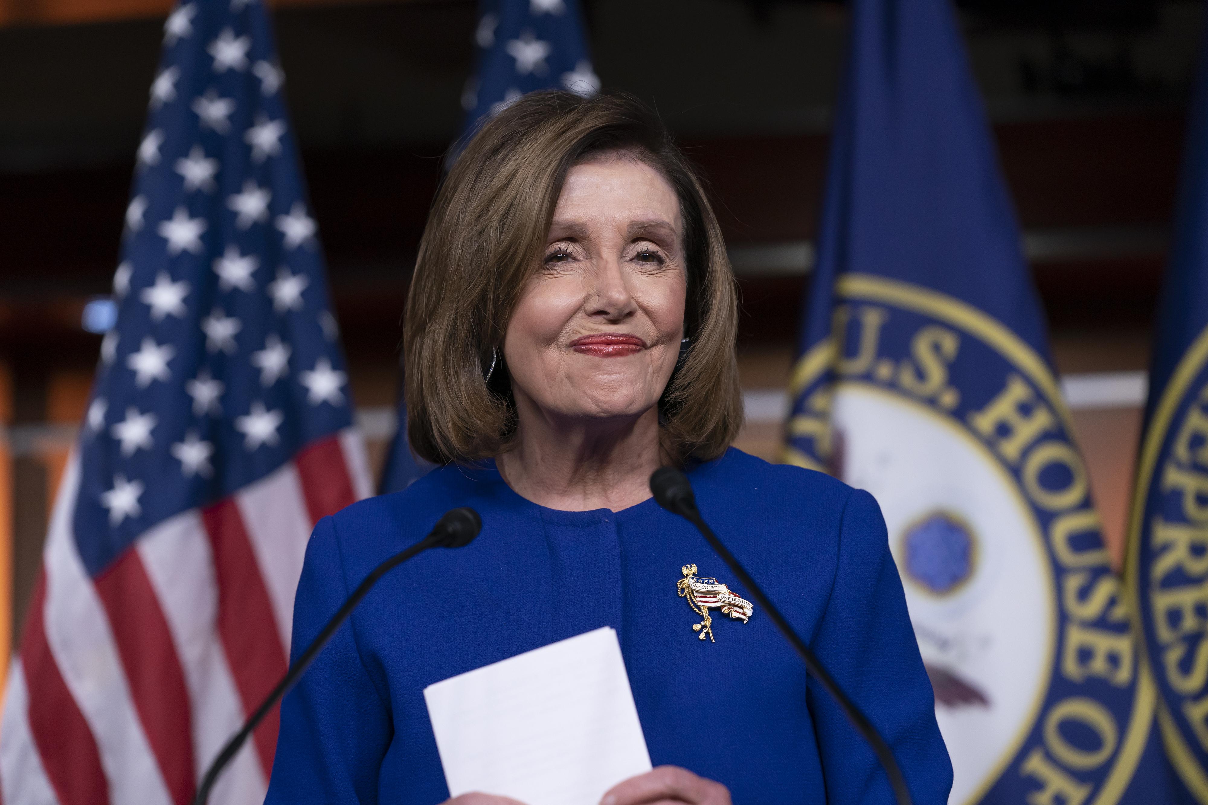 , Pelosi Says Trump's Impeachment Could Go to the Senate 'Next Week', Saubio Making Wealth