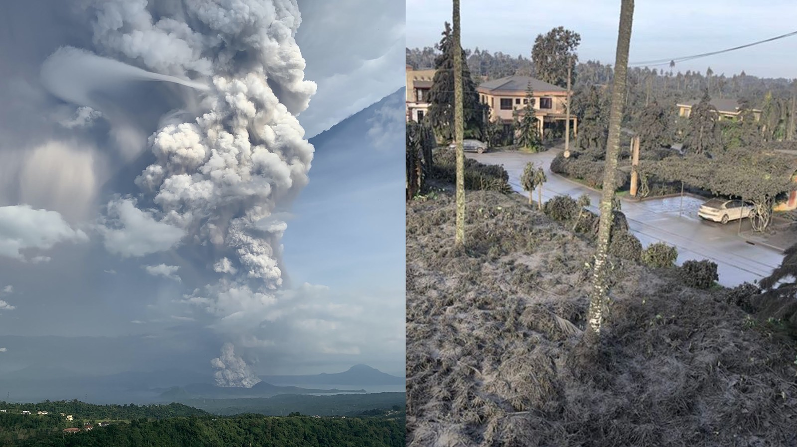 The Most Surreal Photos From the Taal Volcano Eruption in the Philippines