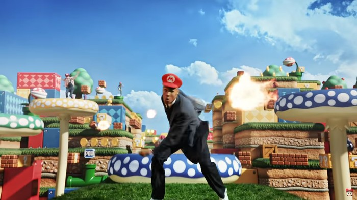 Nintendo Theme Park Ad Imagines Land of Death Traps Where Only the Strong Survive