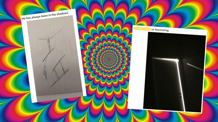 Photos of the Stuff That Fascinates People While They're Tripping On LSD