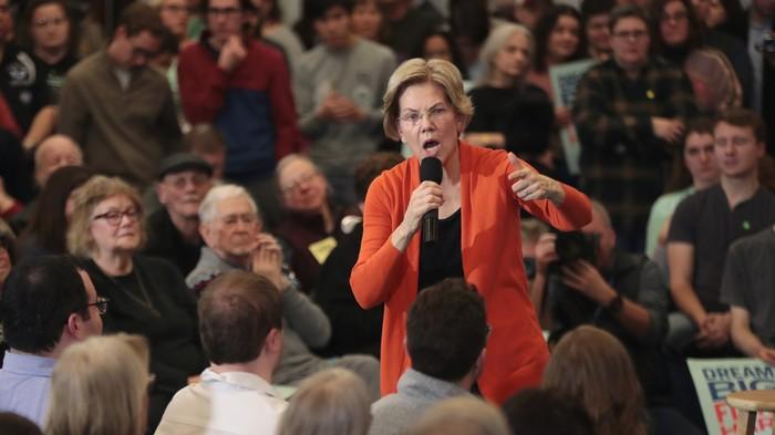 Warren Would Erase $640 Billion in Student Debt No Matter What Congress Said