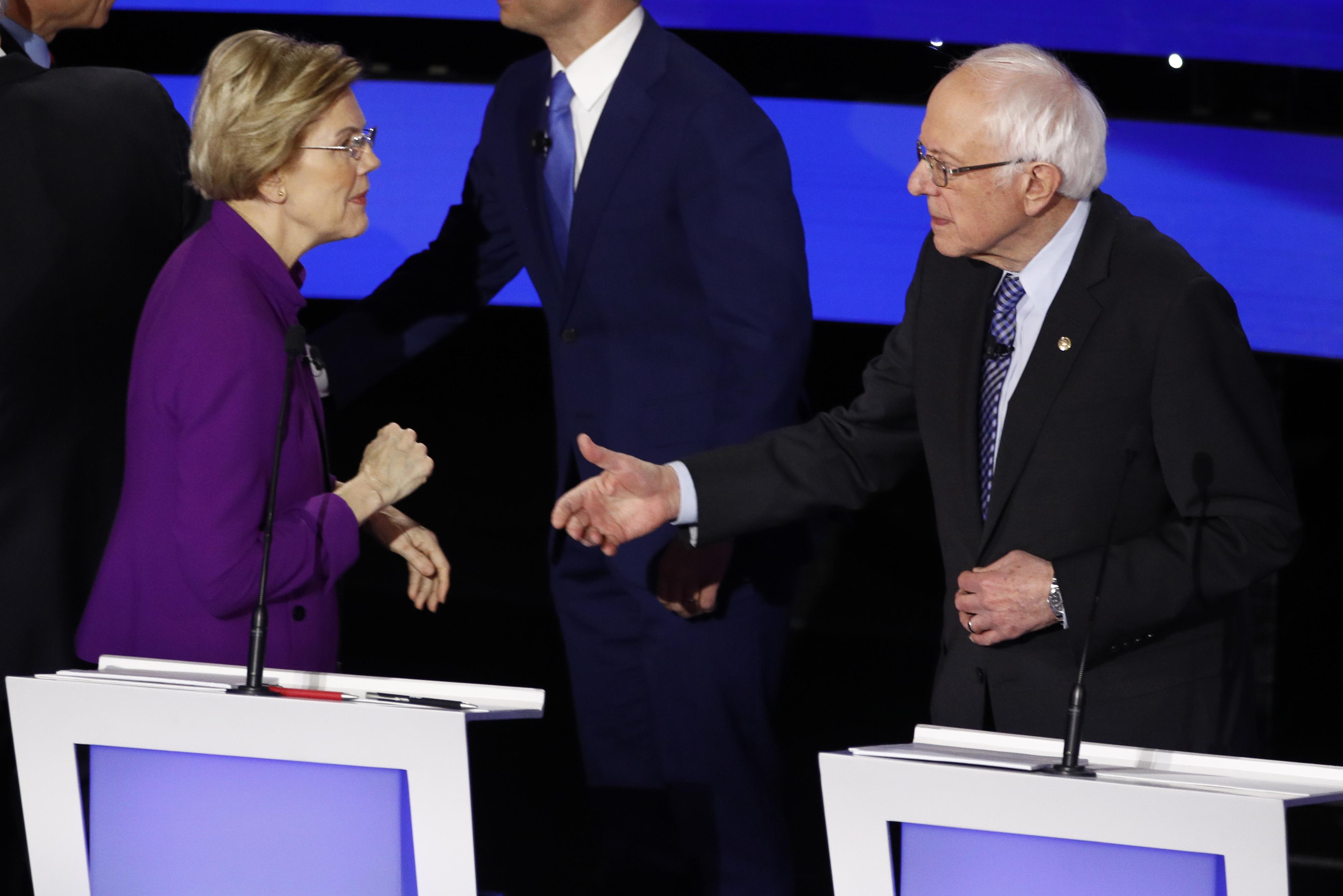 , How Twitter's Algorithm Poured Gas on the Bernie-Warren Spat, Saubio Making Wealth