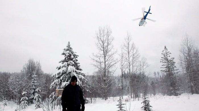 RCMP Deny Drone and Flyover Surveillance at Wet'suwet'en Camps